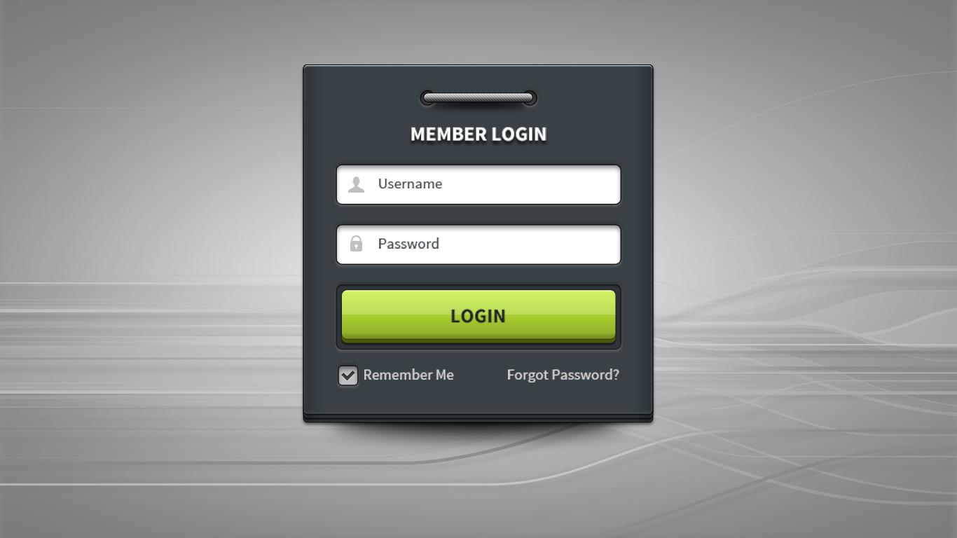 Как сделать форму для входа на сайт