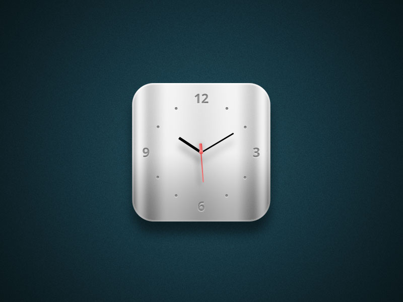 Apple antique Watch Icon Free PSD