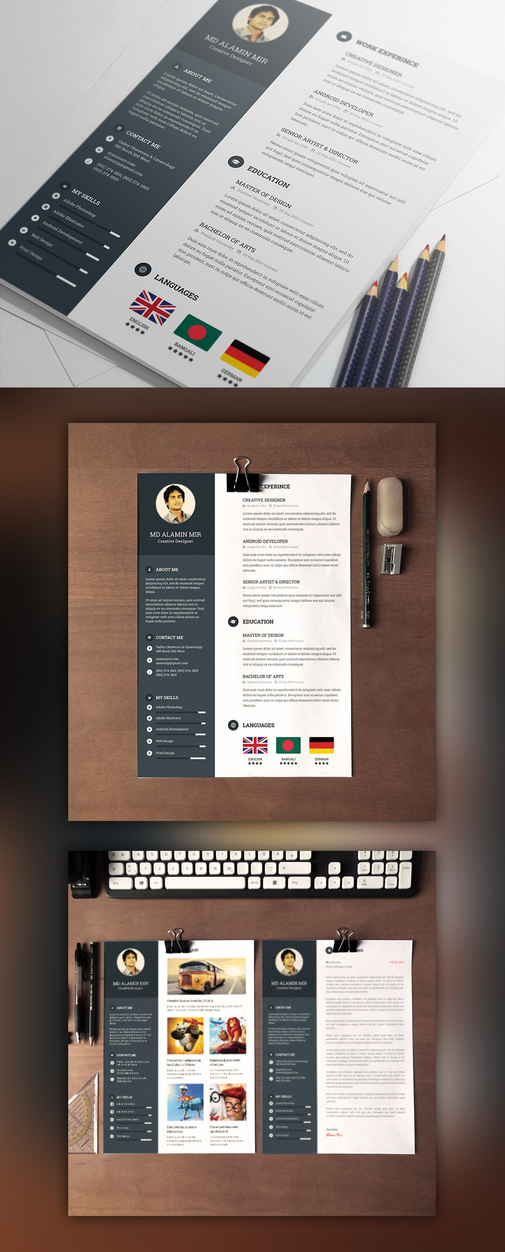 designer resume template cover letter psd at psd cc designer resume template cover letter psd