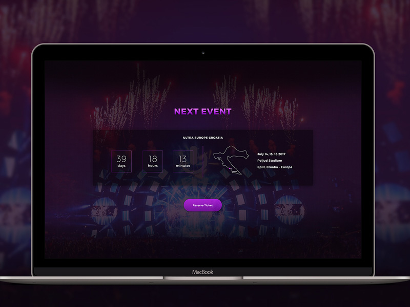 free event countdown web template free psd at freepsd cc