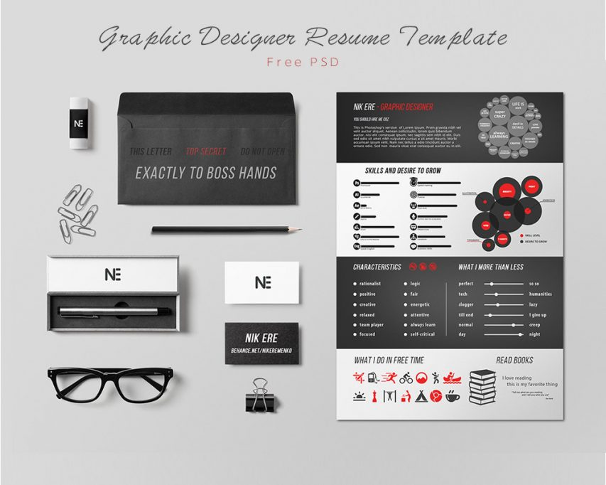creative resume template creative resume design resume template professional one page resume free psd template professional - Word Doc Resume Template