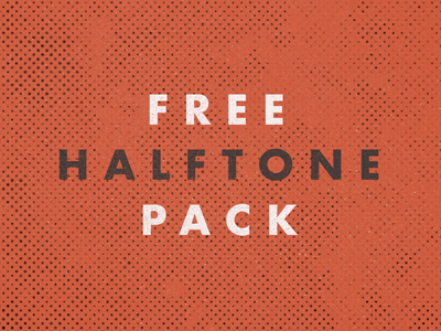 High Resolution Free Halftone Pack Textures