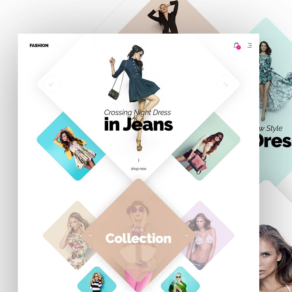 Modern Fashion Store Website Template Free Psd Freepsd Cc Free