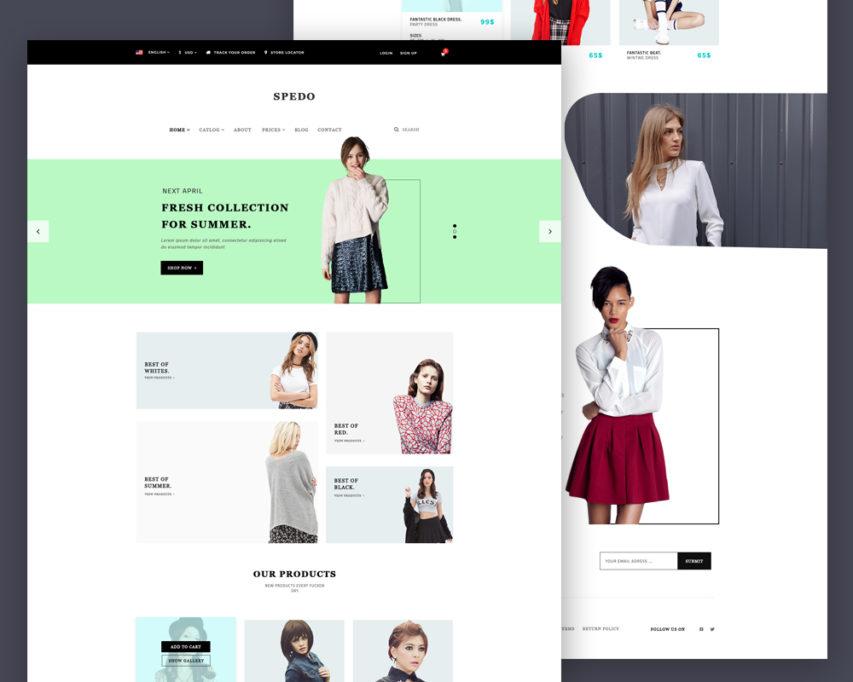 Belinda clothing store website