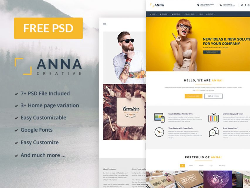 Free multipurpose business website template free psd theme at freepsd web elements web templates wajeb Image collections