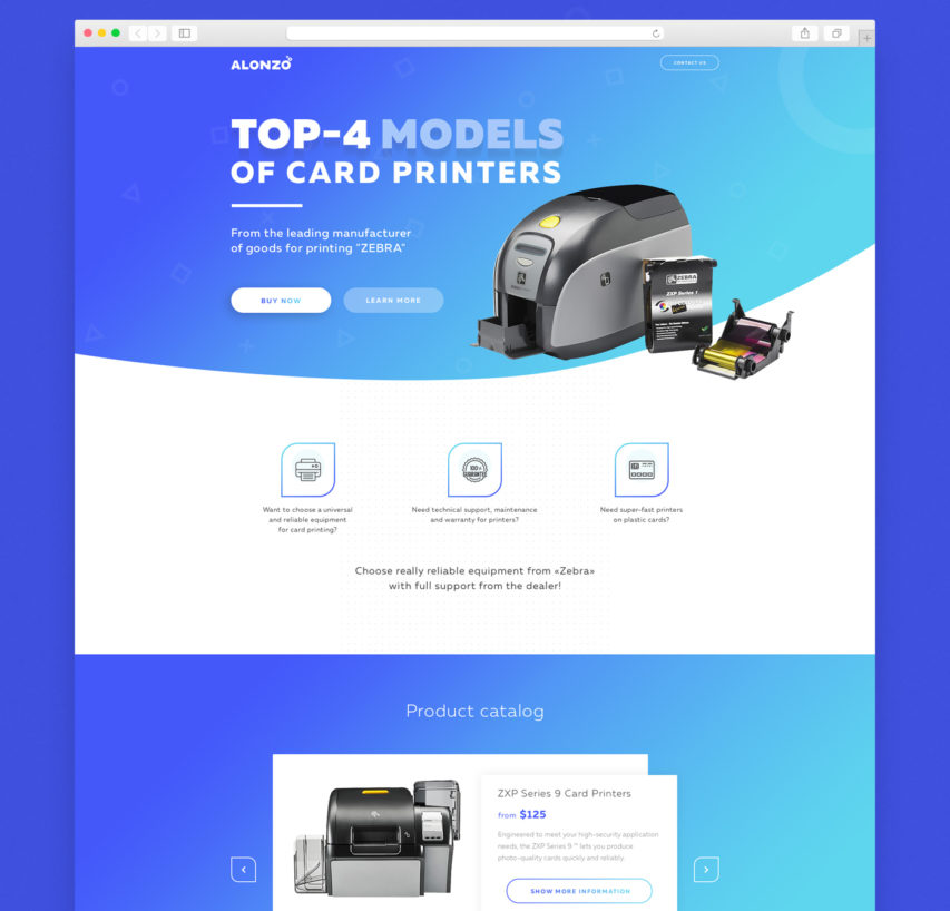 Free Product Landing Page Template Free PSD at FreePSD.cc