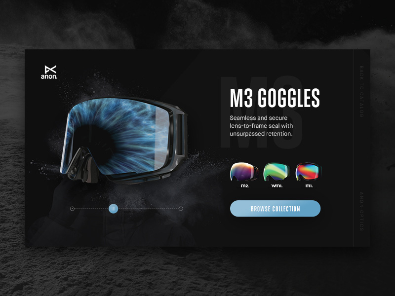 Product Page Interface Template Free PSD