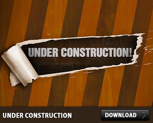 Under Construction PSD L