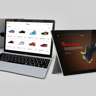 ECommerce Fashion Website Template Free PSD